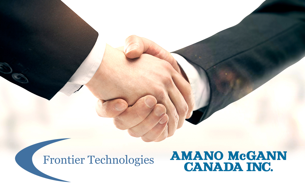 Frontier Technologies Partners with Amano McGann Canada Inc.